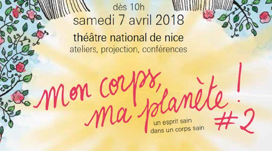 Journée mondiale de la santé au Théâtre National de Nice le 7 Avril 2018
