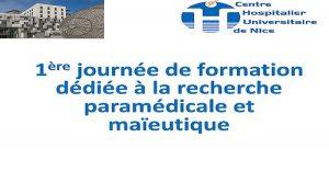 1ère journée de formation dédiée à la recherche paramédicale et maïeutique @ Amphithéâtre Le galet