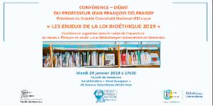 Forum Bioéthique : les enjeux de la loi bioéthique 2019 @ Faculté de Médecine - Nice